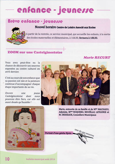 bulletin municipal castelginest