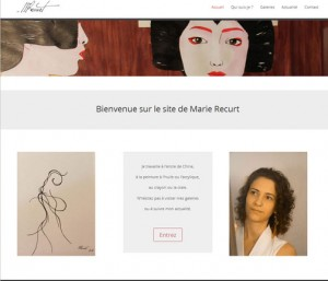 site Marie Recurt